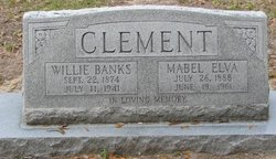 Mabel Elva <i>DeCoster</i> Clement