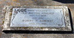 Ora Lillian <i>Patton</i> Ashurst