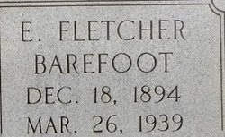 Ernest Fletcher Barefoot