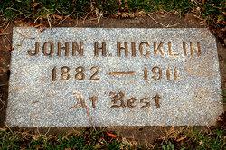 John H Hicklin