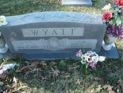 Mattie Lee <i>Landrum Wyatt</i> Crain