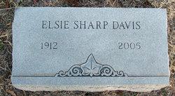 Elsie Margaret <i>Sharp</i> Davis