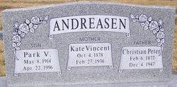 Marion Kate <i>Vincent</i> Andreasen