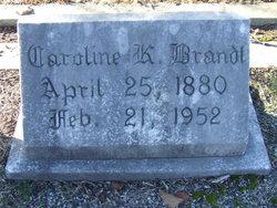 Caroline Marie <i>Kuemmerer</i> Brandt