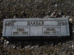 Charles Fredrick Fred Barber