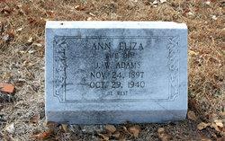 Ann Eliza Adams