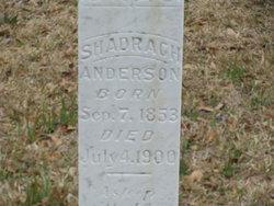 Shadrach Anderson