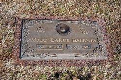 Mary LaRue <i>Gentry</i> Baldwin