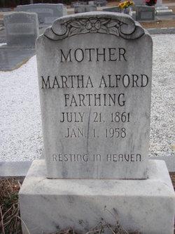 Martha <i>Alford</i> Farthing