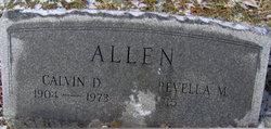 Calvin D Allen