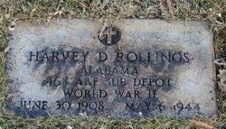 Harvey D Rollings