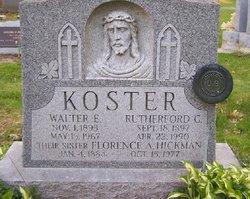 Florence A. <i>Koster</i> Hickman
