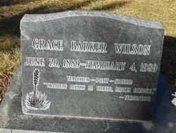 Grace <i>Barker</i> Wilson