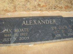 Dr Jack W Alexander