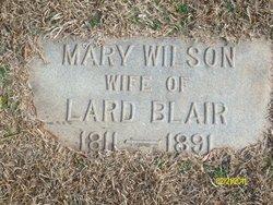 Mary Ann <i>Wilson</i> Blair