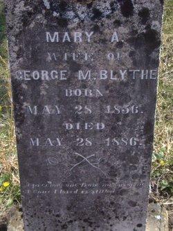 Mary Ann <i>Carney</i> Blythe
