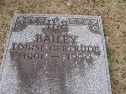 Louise Gertrude Bailey