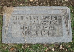Sarah J.Bluie <i>Adair</i> Lawrence