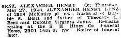 Henry Alexander Benz