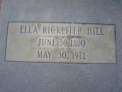 Ida Ella <i>Kicklighter</i> Hill