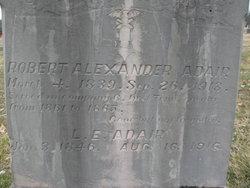 Robert Alexander Adair