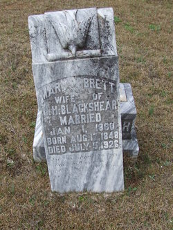 Mary Ann <i>Brett</i> Blackshear