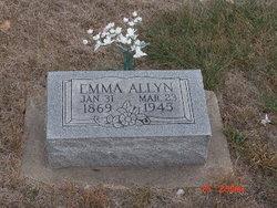 Emma Caroline <i>Mills</i> Allyn