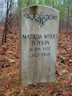 Edith Matilda <i>Myers</i> Boykin