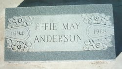 Effie May <i>Perry</i> Anderson