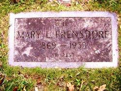 Mary Luvisa <i>Huxley</i> Frensdorf