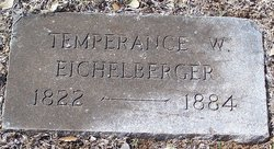 Temperance <i>Wilson</i> Eichelberger