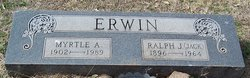 Ralph Jackson Jack Erwin