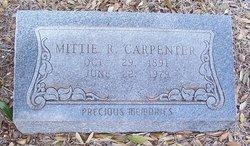 Mittie Rebecca <i>Andrews</i> Carpenter
