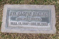 Eva <i>Easton</i> Hackney