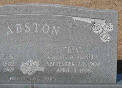 Camilla Ida <i>Mosley</i> Abston