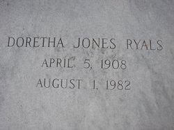 Doretha <i>Jones</i> Ryals