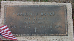 Pvt Aaron J Banks