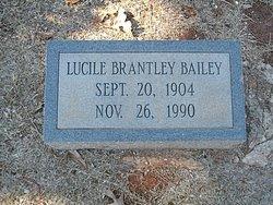 Lucile <i>Brantley</i> Bailey