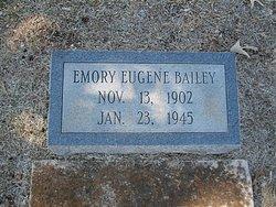Emory Eugene Bailey