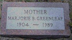 Marjorie B. <i>Wiley</i> Greenleaf