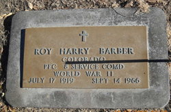 Roy Harry Barber