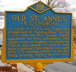 Old Saint Anne's Church Cemetery