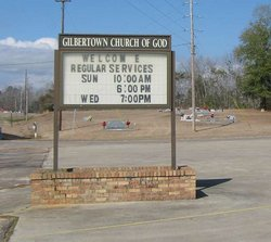Gilbertown Church of God Cemetery