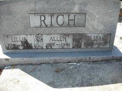 Lillie Eliza Ellen <i>Parrish</i> Rich