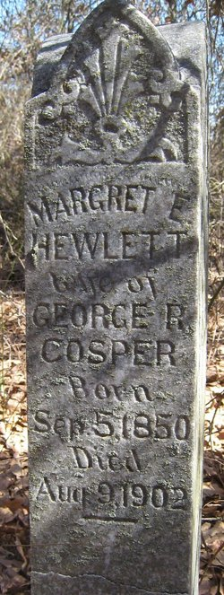 Margret E. <i>Hewlett</i> Cosper