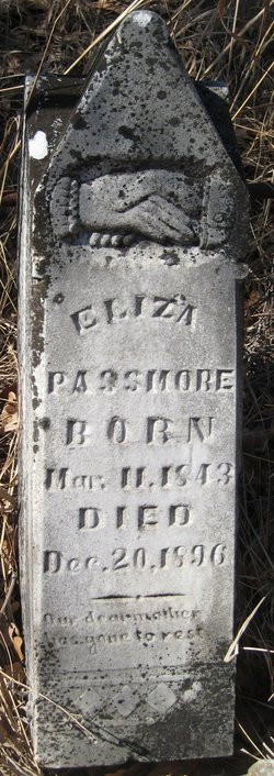 Eliza Jane <i>Cauley</i> Passmore