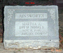 Martha A Ainsworth