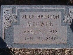 Alice Monette <i>Herndon</i> Bristow