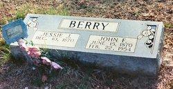 Jessie Jerusha <i>Kindrick</i> Berry