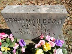 Benjiman Ezra Adams